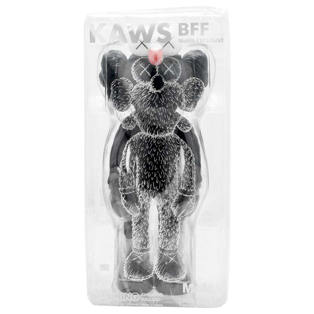 KAWS, BFF (Black), 2017 | Lougher Contemporary