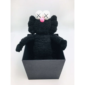 KAWS, BFF Plush Doll (Black), 2016 | Lougher Contemporary