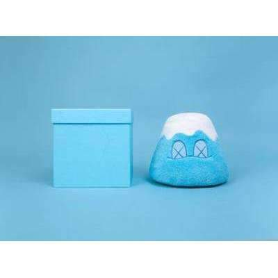 "KAWS, Holiday Japan 8"" Mount Fuji Plush - Blue, 2019 