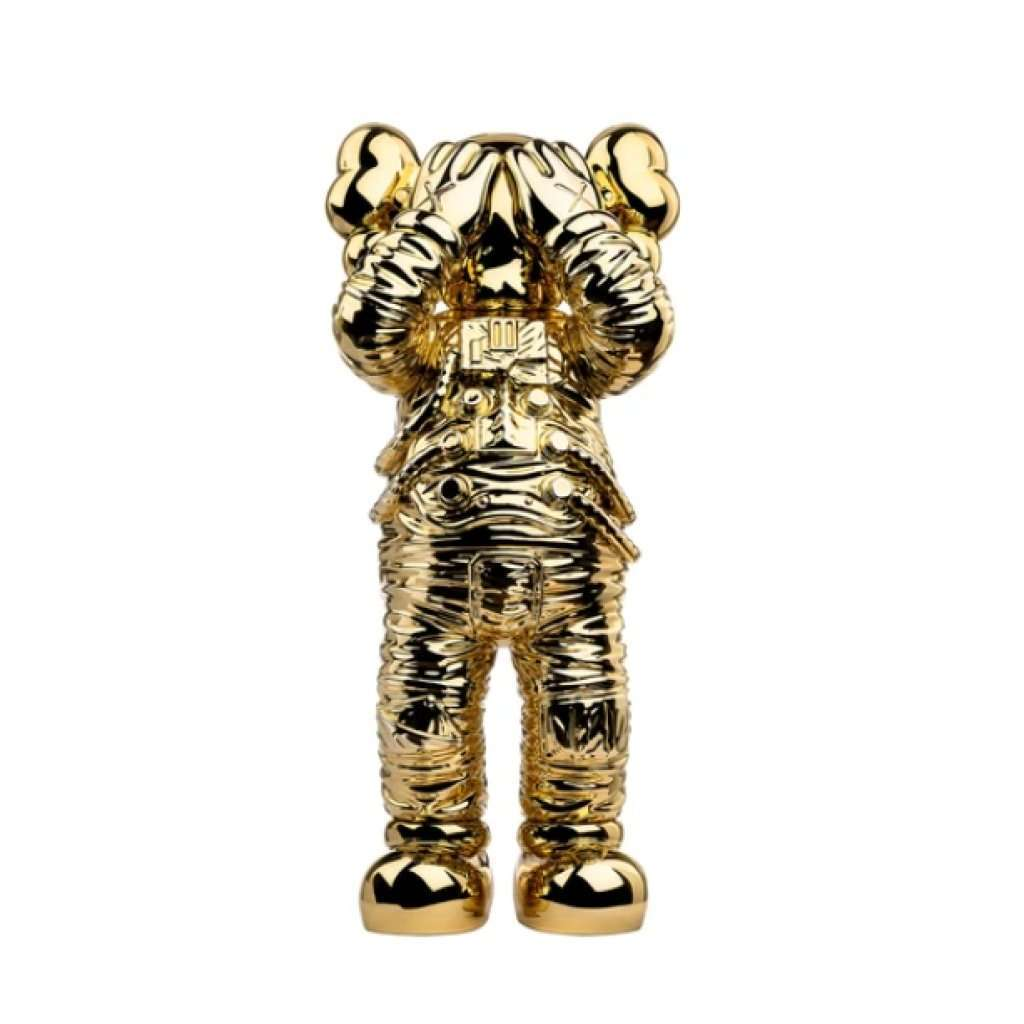 KAWS, Holiday Space (Gold), 2020 | Lougher Contemporary