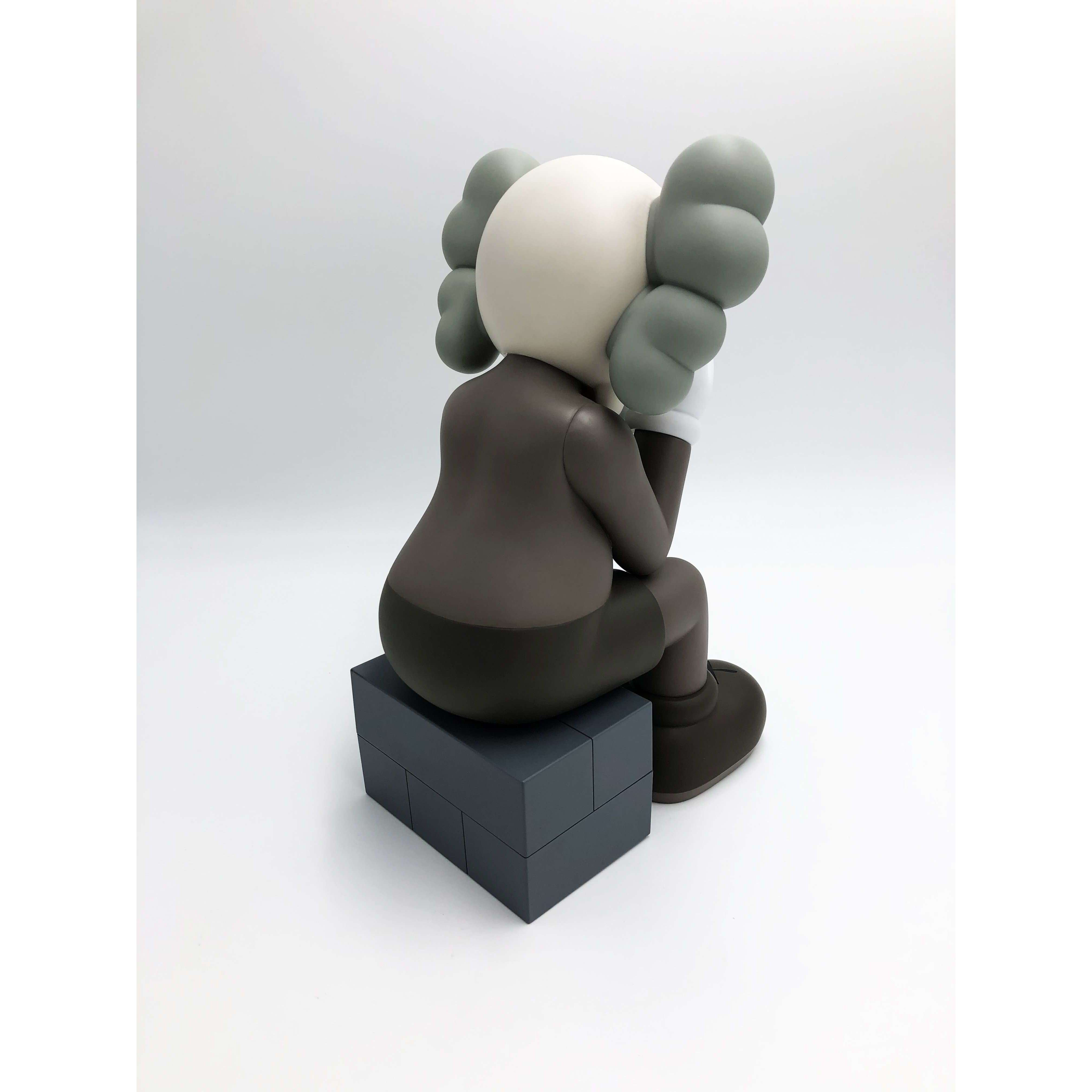 KAWS, Passing Through (Brown), 2013 | Lougher Contemporary