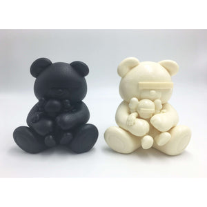 KAWS, Undercover Bear (set of Black and White), 2009 | Lougher Contemporary