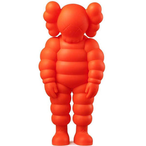 KAWS, What Party - Chum (Orange), 2020 | Lougher Contemporary