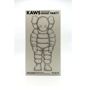 KAWS, What Party - Chum (White), 2020 | Lougher Contemporary