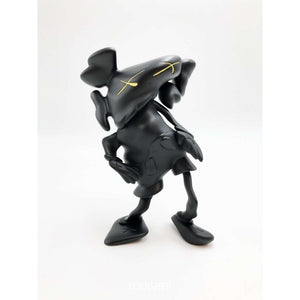 KAWS x Robert Lazzarini, Distorted Companion (Black), 2010 | Lougher Contemporary