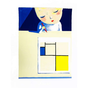 Liu Ye, She and Mondrian, 2001 | Lougher Contemporary
