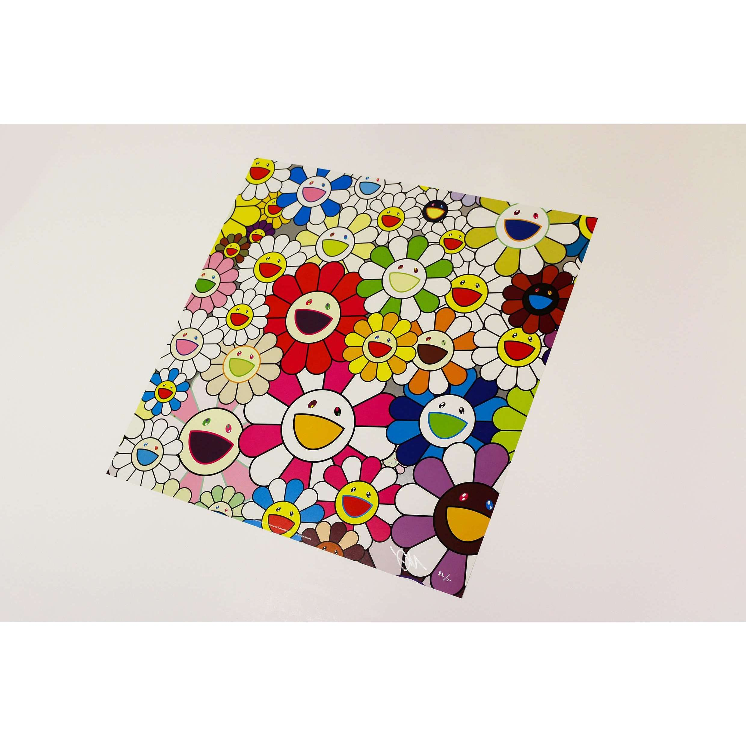 Takashi Murakami, Flowers Blooming in this World and the Land of Nirvana (1), 2013 | Lougher Contemporary