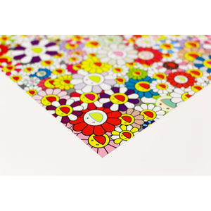 Takashi Murakami, Flowers Blooming in this World and the Land of Nirvana (5), 2013 | Lougher Contemporary