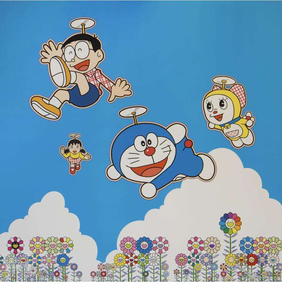 Takashi Murakami, So Much Fun, Under the Blue Sky, 2020 | Lougher Contemporary