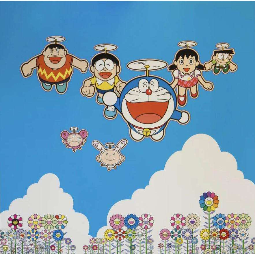 Takashi Murakami, Wouldn't It Be Nice If We Could Do This and That, 2020 | Lougher Contemporary