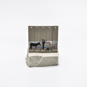 Banksy, Walled Off Hotel - Wall Sculpture (Donkey Documents), 2018 | Lougher Contemporary