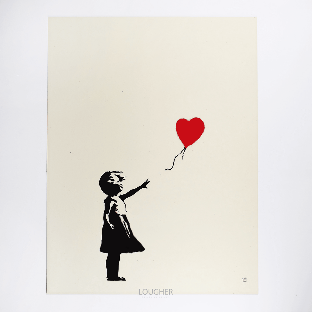 Banksy, Girl With Balloon, 2004 (Unsigned) | Lougher Contemporary