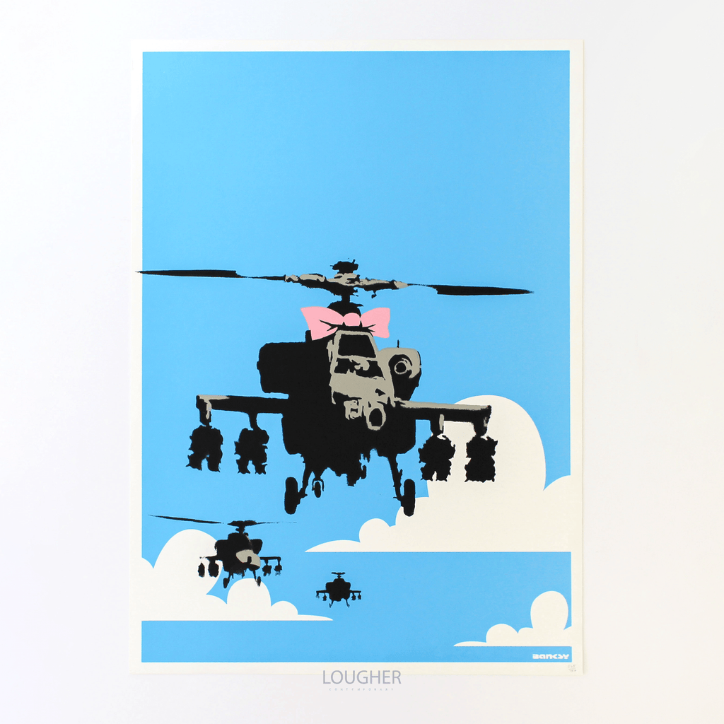 Banksy, Happy Choppers (Unsigned), 2003 | Lougher Contemporary