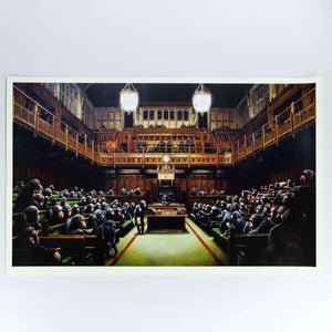 Banksy, Monkey Parliament, 2009 | Lougher Contemporary
