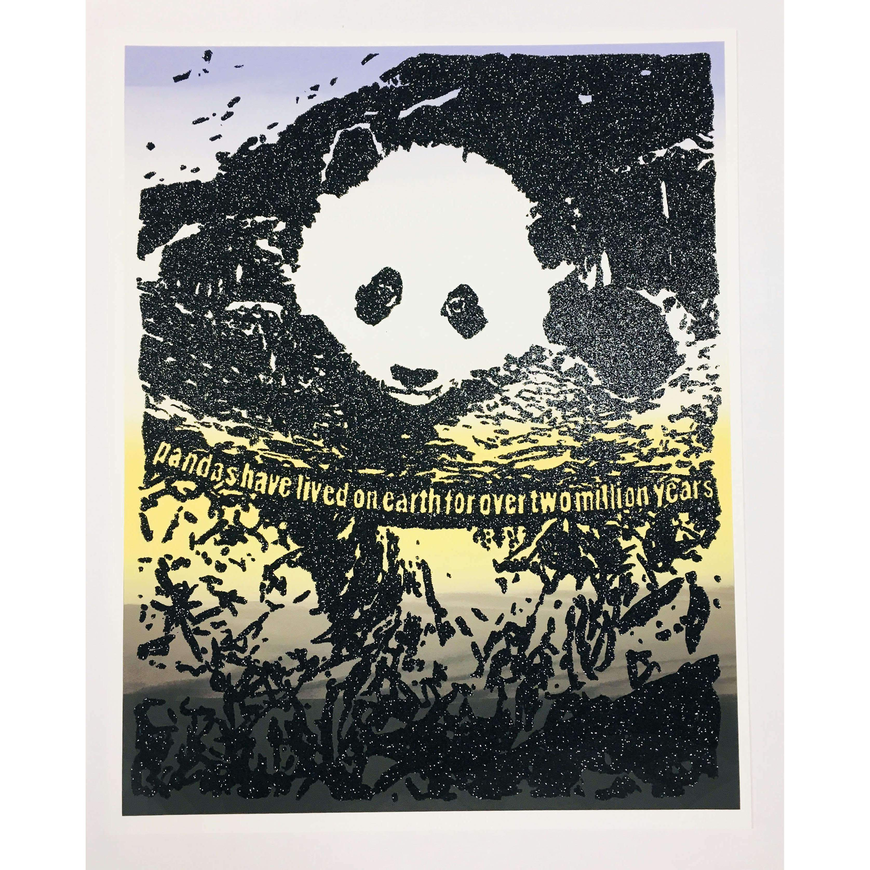 Rob Pruitt, Giant Pandas Spend About 12 Hours a Day Eating, 2019 | Lougher Contemporary