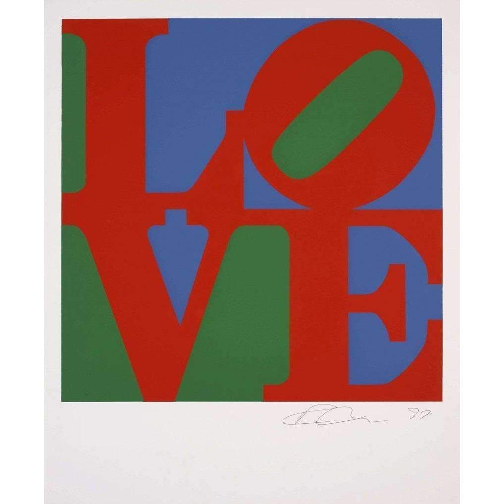 Robert Indiana, LOVE (Classic), 1997 | Lougher Contemporary