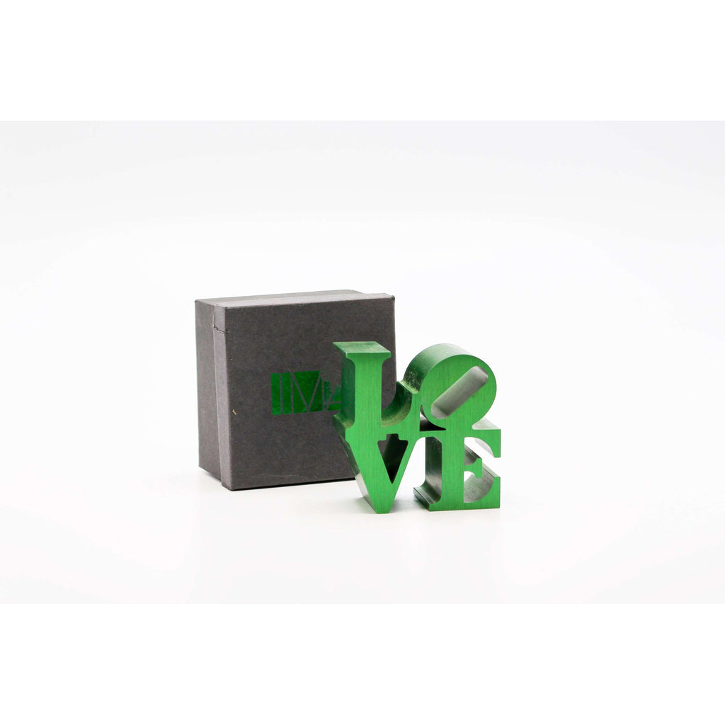 Robert Indiana, LOVE (Green), 2009 | Lougher Contemporary
