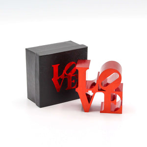 Robert Indiana, LOVE (Red), 2009 | Lougher Contemporary