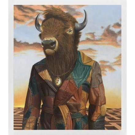 Sean Landers, Buffalo Minotaur, 2017 | Lougher Contemporary
