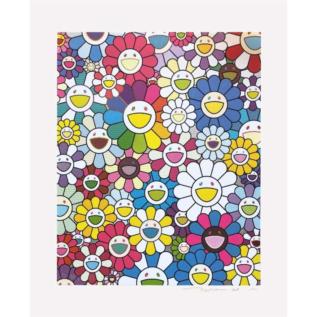 Takashi Murakami, A Field of Flowers Seen from the Stairs to Heaven, 2018 | Lougher Contemporary