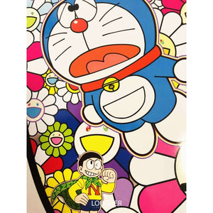 Takashi Murakami, Doraemon In the Field of Flowers, 2018 | Lougher Contemporary
