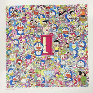 Takashi Murakami, Many Things Await Beyond Anywhere Door (Dokodemo Door), 2019 | Lougher Contemporary