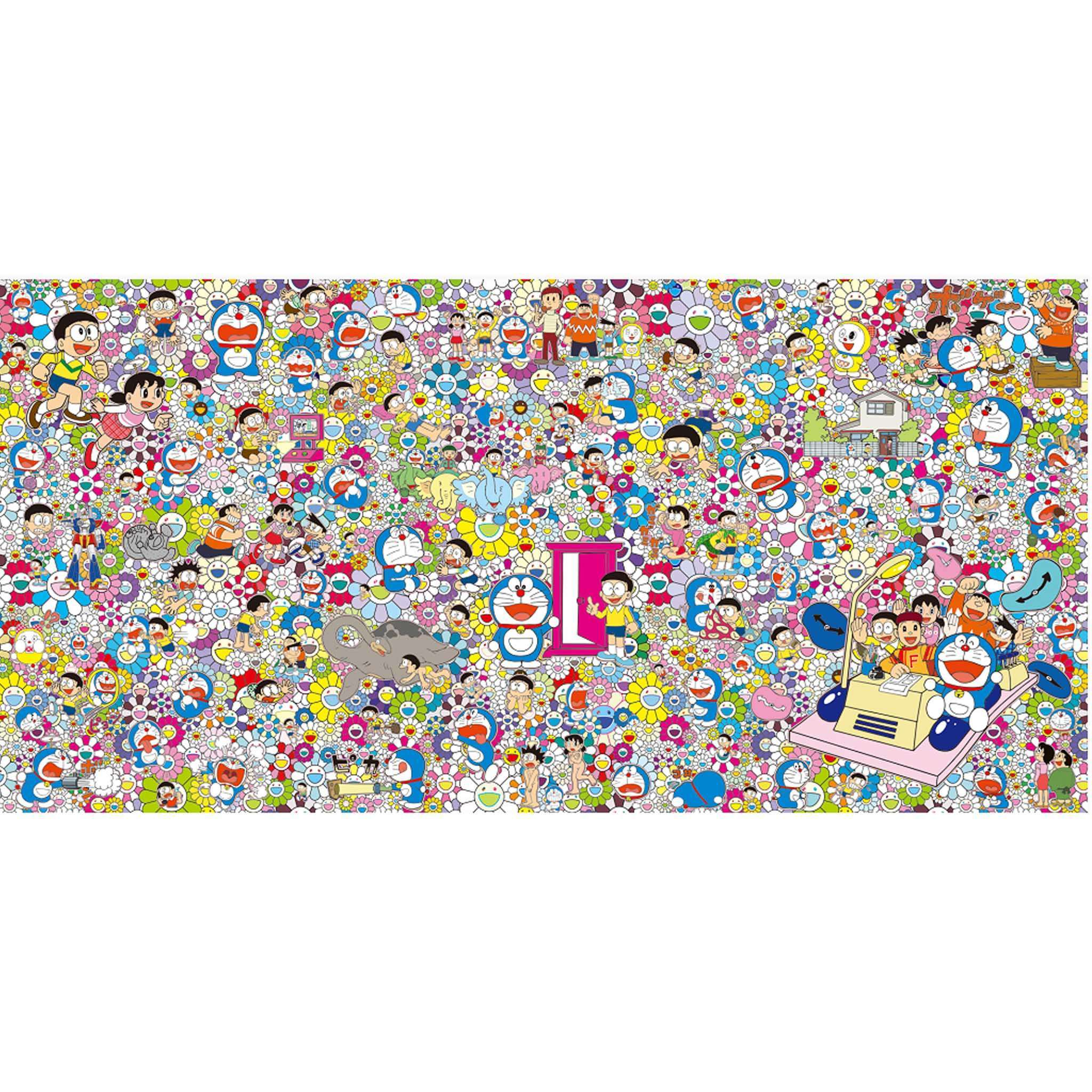 Takashi Murakami, Wouldn't It Be Nice if we Could Do Such a Thing, 2017 | Lougher Contemporary