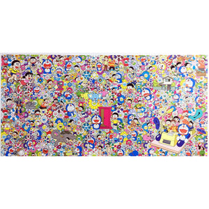 Takashi Murakami, Wouldn't It Be Nice If We Could Do Such A Thing, 2019 | Lougher Contemporary