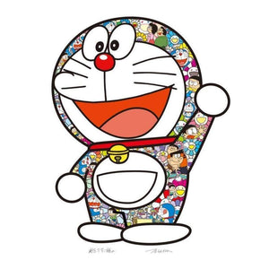Takashi Murakami x Doraemon, Doraemon: Thank You, 2020 | Lougher Contemporary