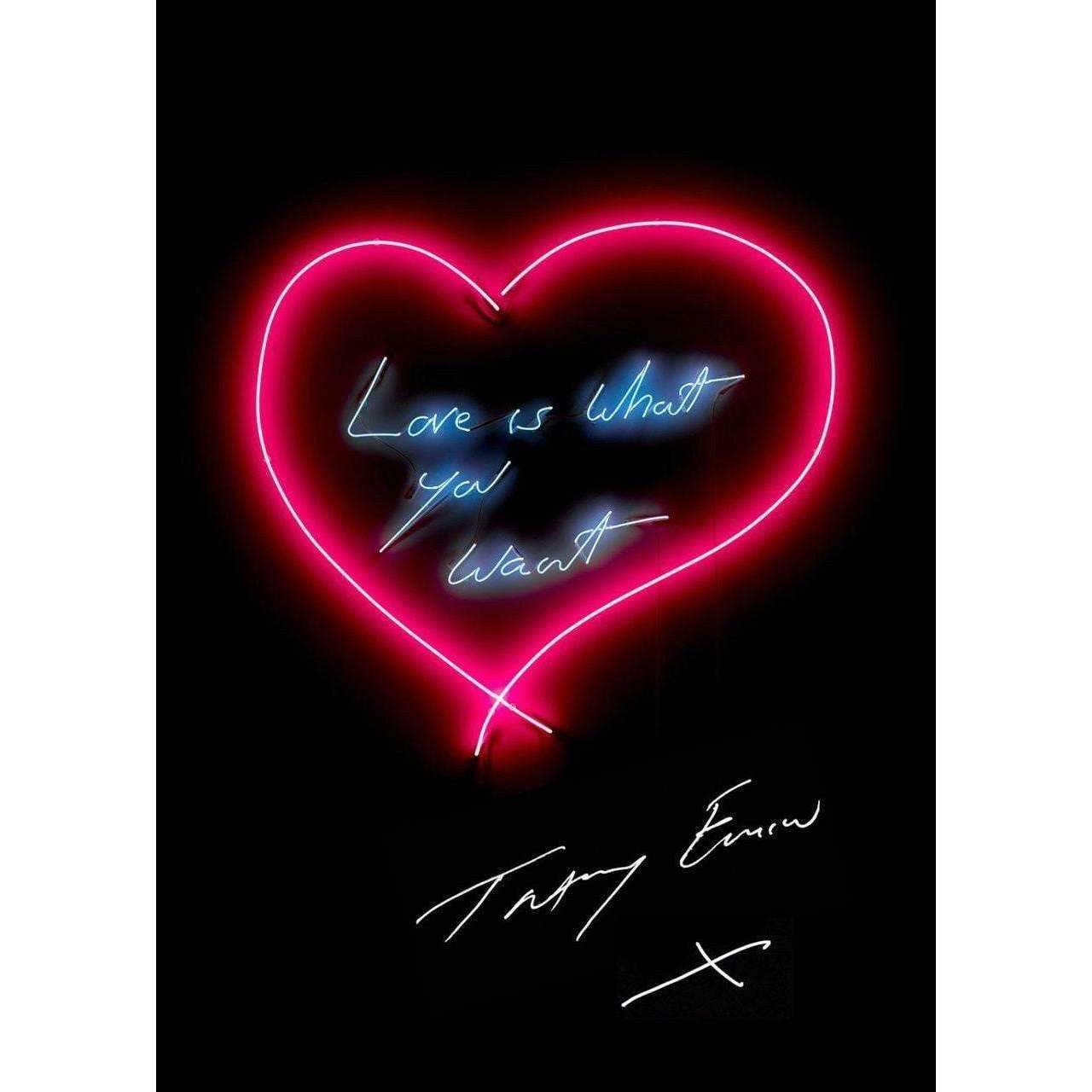 Tracey Emin, Love Is What You Want, 2015 | Lougher Contemporary