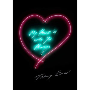 Tracey Emin, My Heart Is With You Always, 2015 | Lougher Contemporary