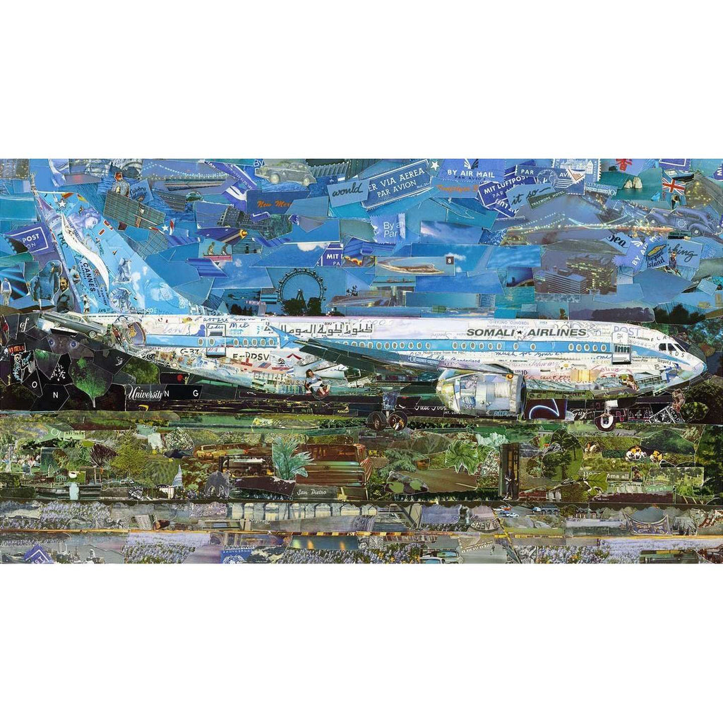 Vik Muniz, Jetliner, 2018 | Lougher Contemporary