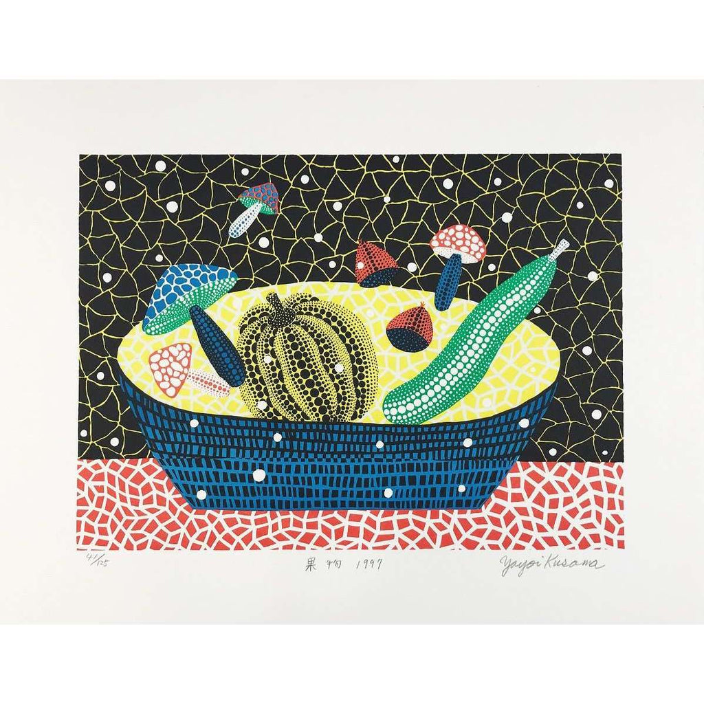 Yayoi Kusama, Fruits, 1997 | Lougher Contemporary