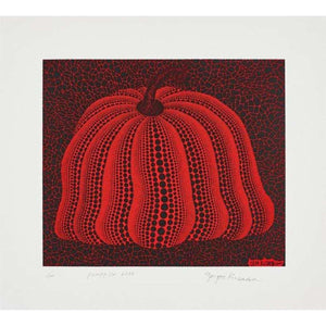 Yayoi Kusama, Pumpkin 2000 (Red), 2000 | Lougher Contemporary