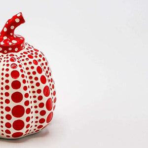 Yayoi Kusama, Pumpkin (Red and White), 2015 | Lougher Contemporary