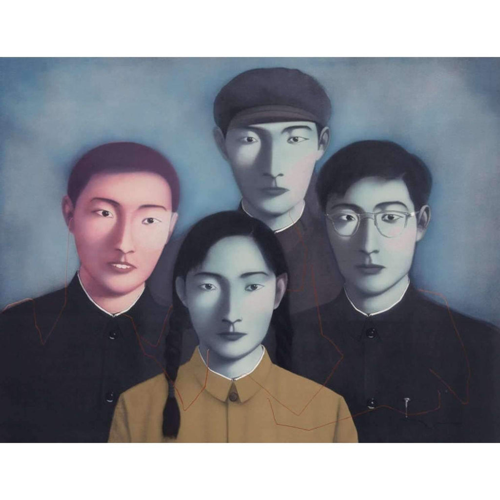 Zhang Xiaogang, Big Family No. 1 (from Bloodline Series), 2006 | Lougher Contemporary