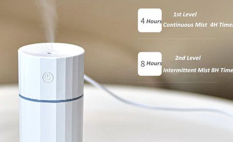 USB Humidifier FOGGER - Mist Modes - Air Humidifiers