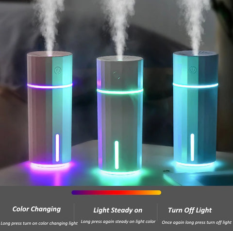 USB Humidifier FOGGER - Night Light - Air Humidifiers