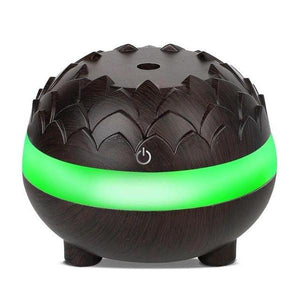 WOODEN HUMIDIFIER LOVA - Dark Wood