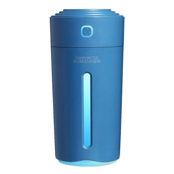 Portable Air Humidifier Starry Sky Cup - Navy Blue