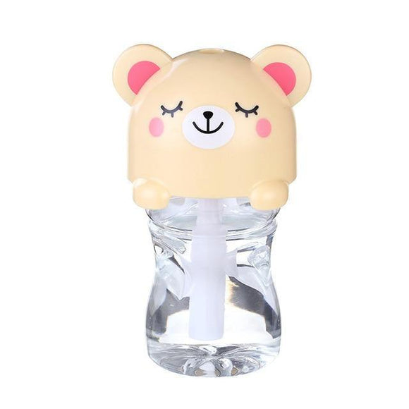 Travel Mini Humidifier KITTY - yellow
