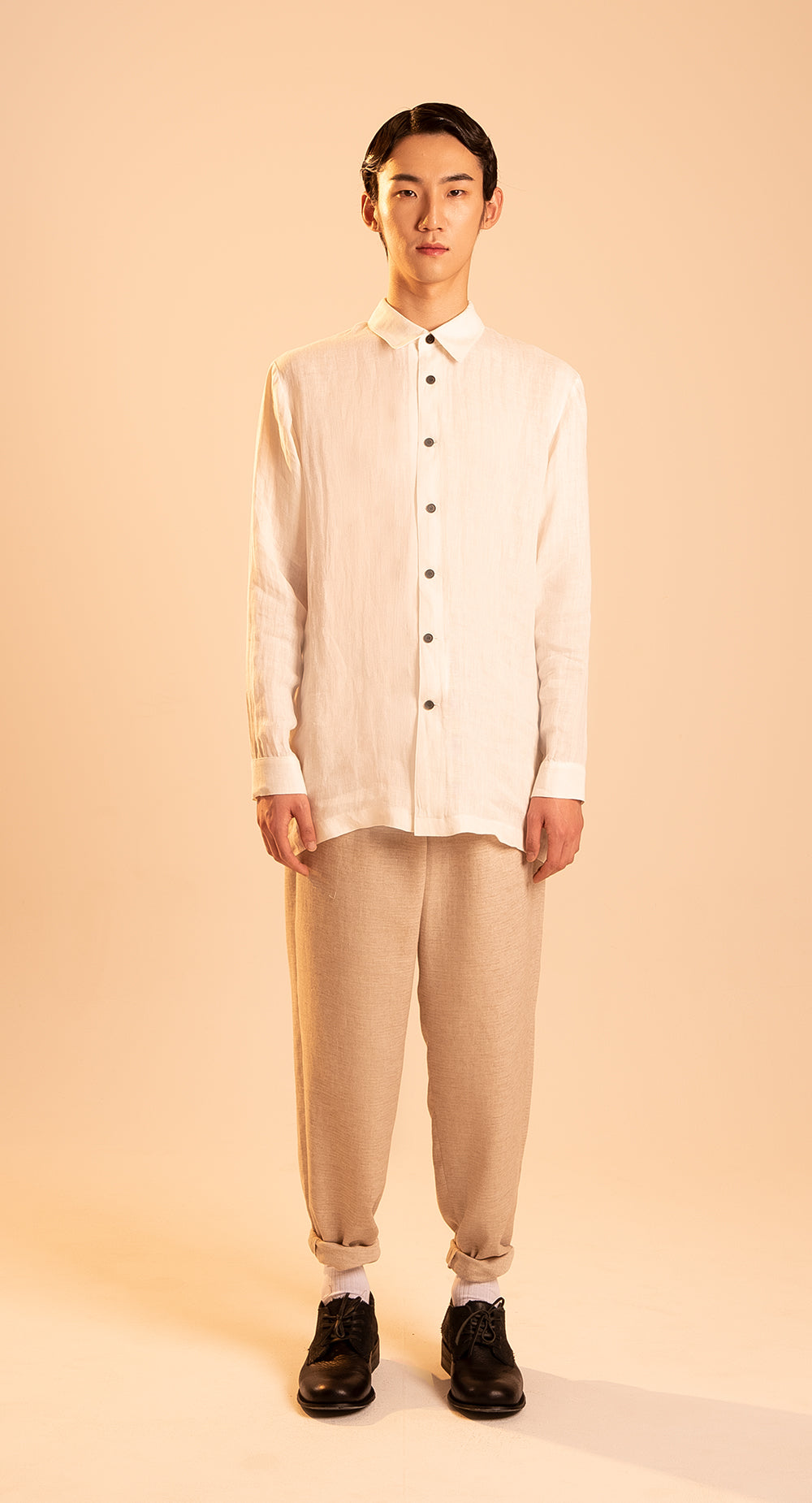 Regular Box Fit Linen Shirt IV