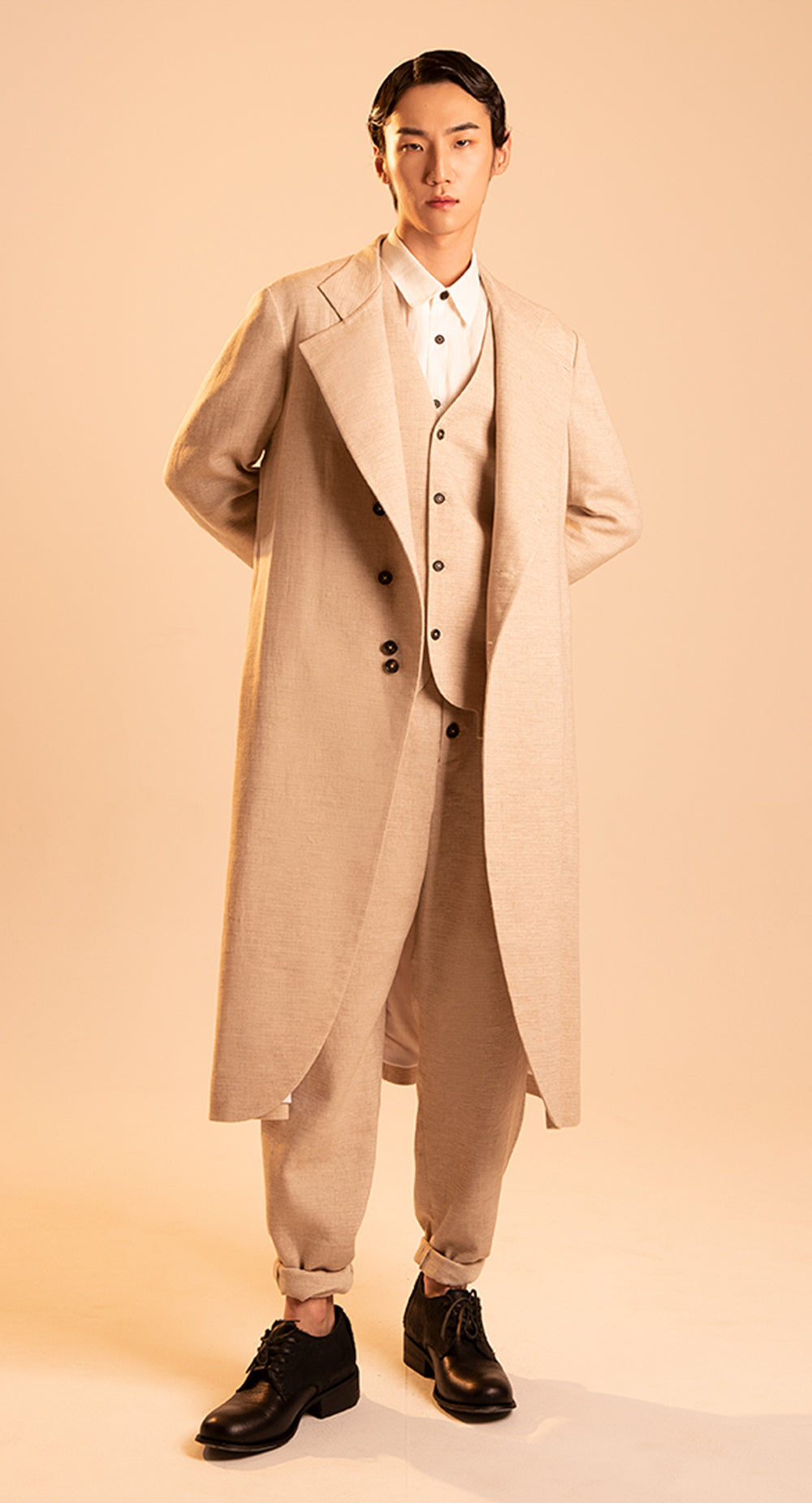 Two Way Collar Coat BE