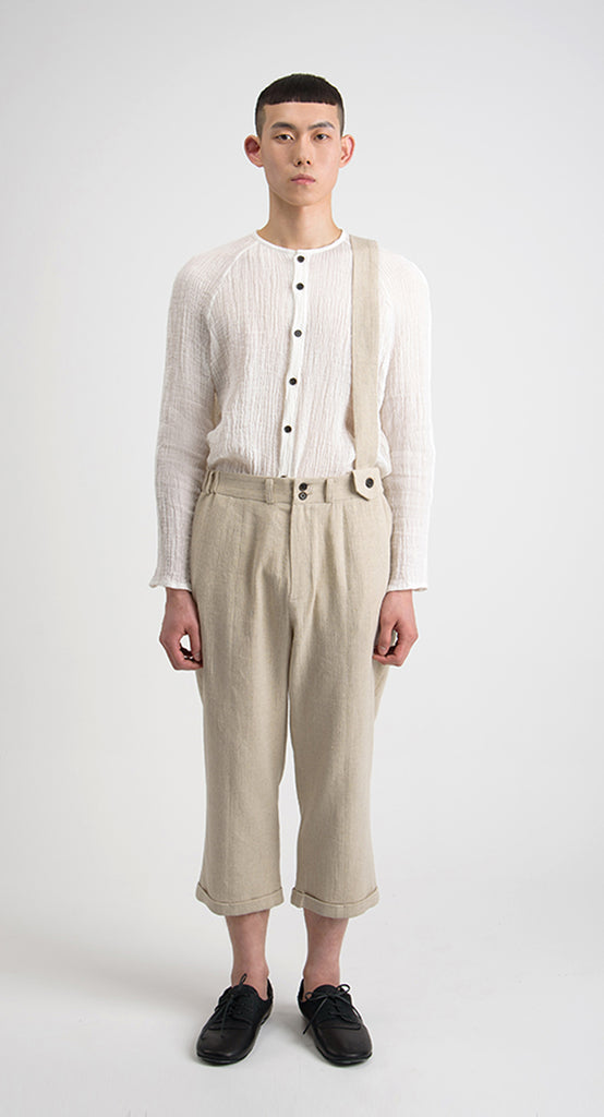 Cropped Linen Pant BE