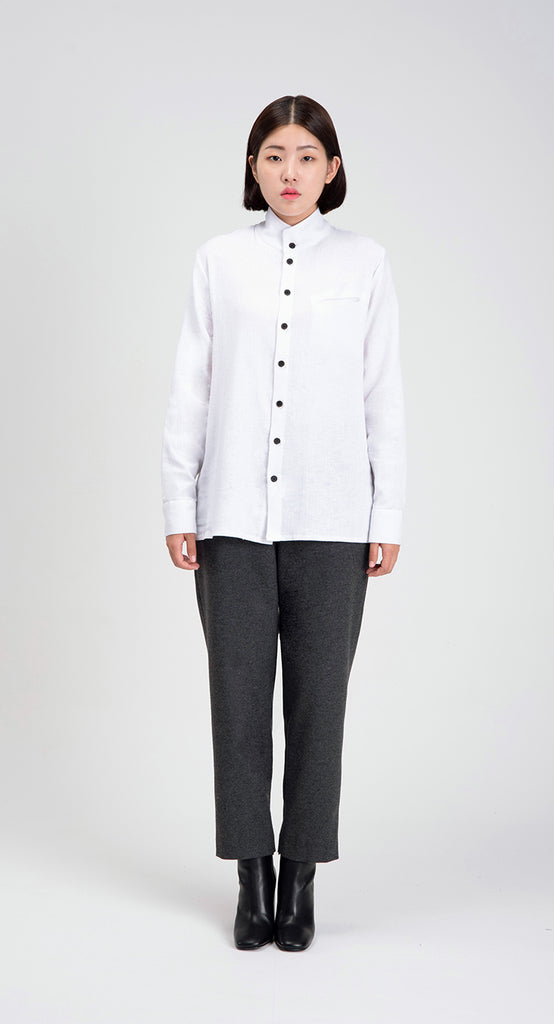 Women Box Fit Shirt WH