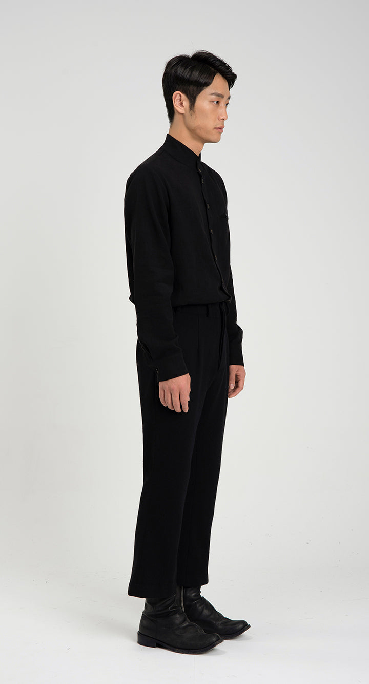 Slim Fit WOOL Slacks BK