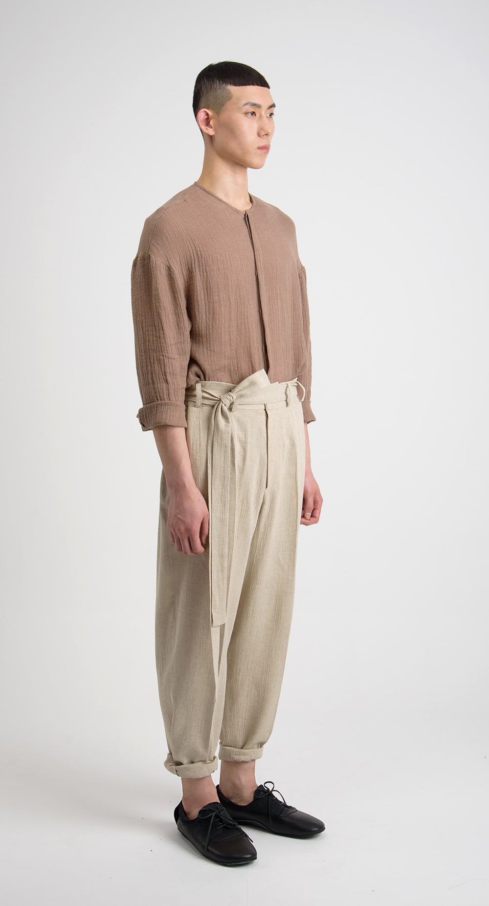 Baggy Linen Pant BE