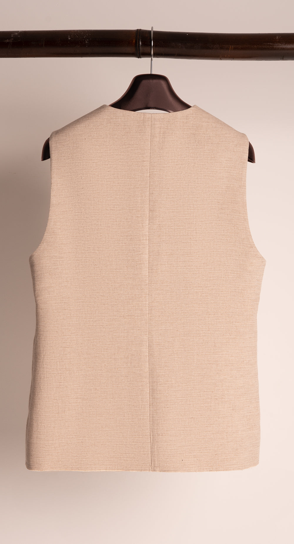 Single Breasted Cut-out Vest BE
