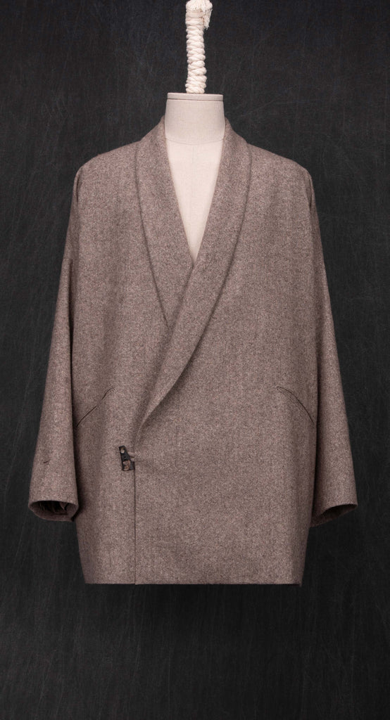 Shawl Collar Wool Jacket BE