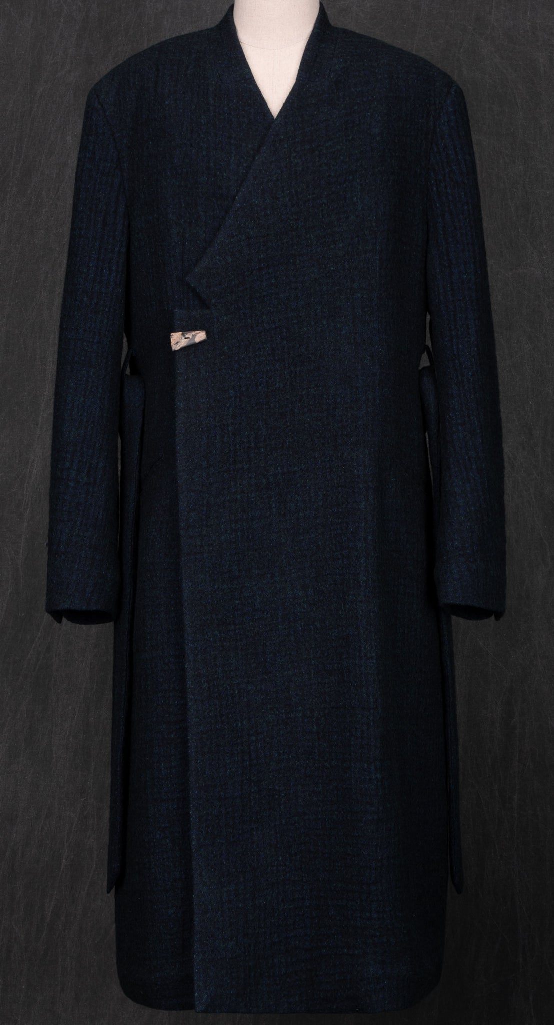 Laconic Quilted Lining Wool Coat GR